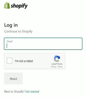 1 shopify login