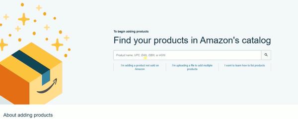 2 add a product amazon