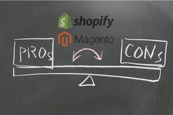 Pros and Cons of Shopify magento