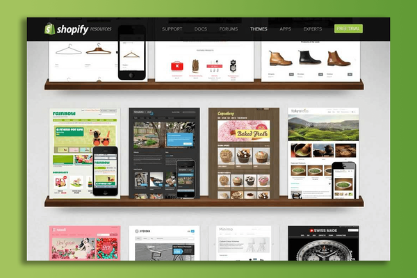 Shopify's Website Builder