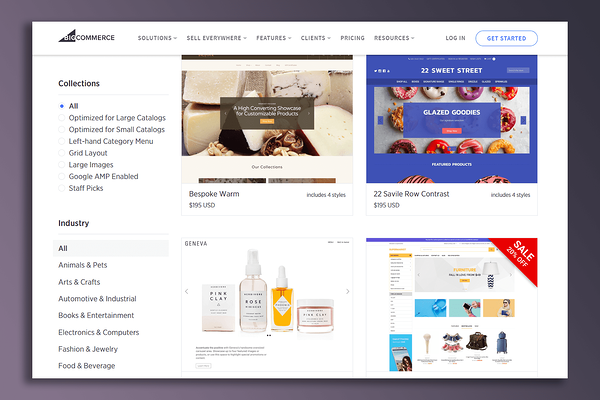 BigCommerce's Website Builder