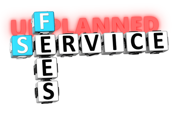 Unplanned Service Fees